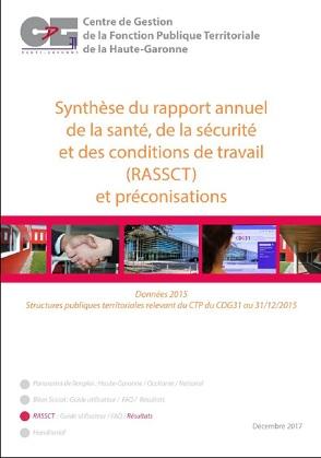 Couverture synthèse RASSCT 2015 collectivités relevant du CTP du CDG31