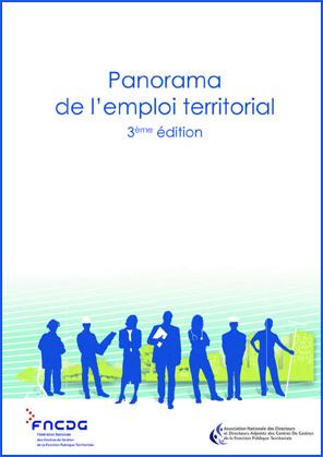 Couverture de la publication Panorama de l'emploi territorial en France - 3ème édition