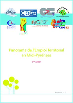 Couverture de la publication Panorama Emploi Territorial Midi Pyrénés 3ème Edition