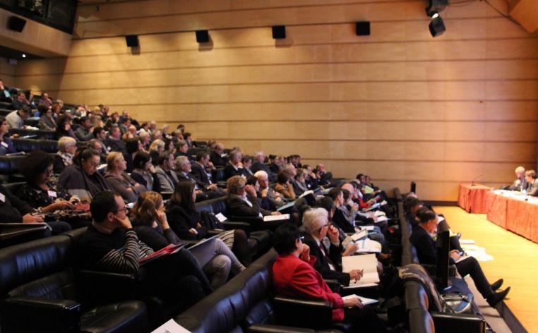 Conférence Régionale de l'Emploi territorial en Occitanie - les participants