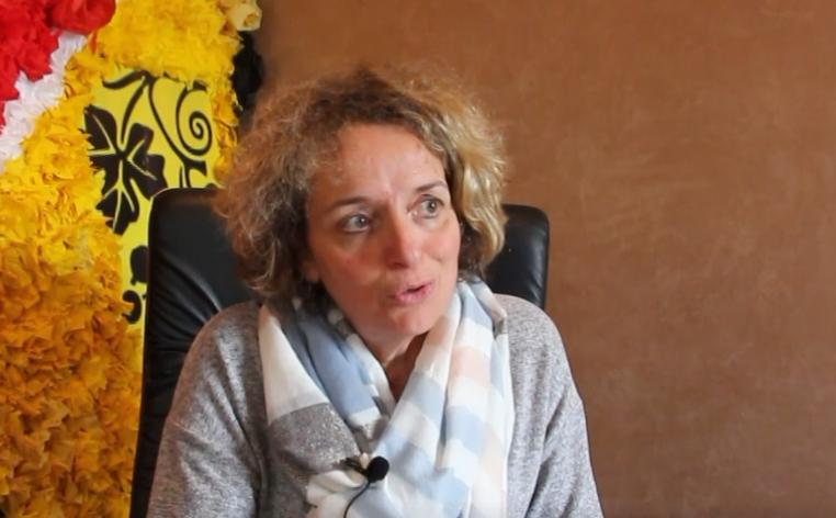 Photo interview de Madame CABESSUT, Maire de Bouloc