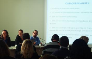 photo d'une réunion du réseau des conseillers et assistants de prévention du CDG31