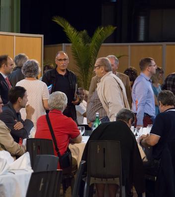 Assemblée générale 2016 du CDG 31 : le repas avec les participants