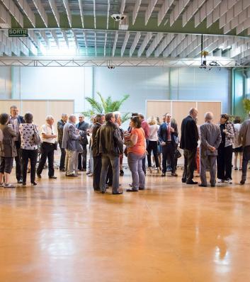 Assemblée générale 2016 du CDG31 : accueil des participants