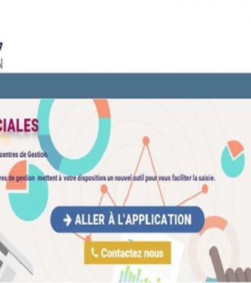 visuel de l'application dédiée à la saisie du bilan social