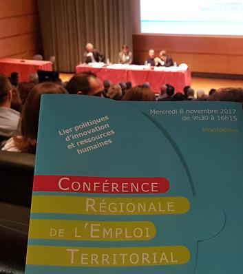 Chemise Conférence Régionale de l'Emploi territorial en Occitanie 2017