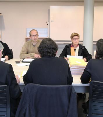 Membres de la Commission de réforme siégeant au CDG31