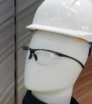 Mannequin portant des équipements de protection individuelle