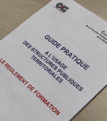 Document règlement formation