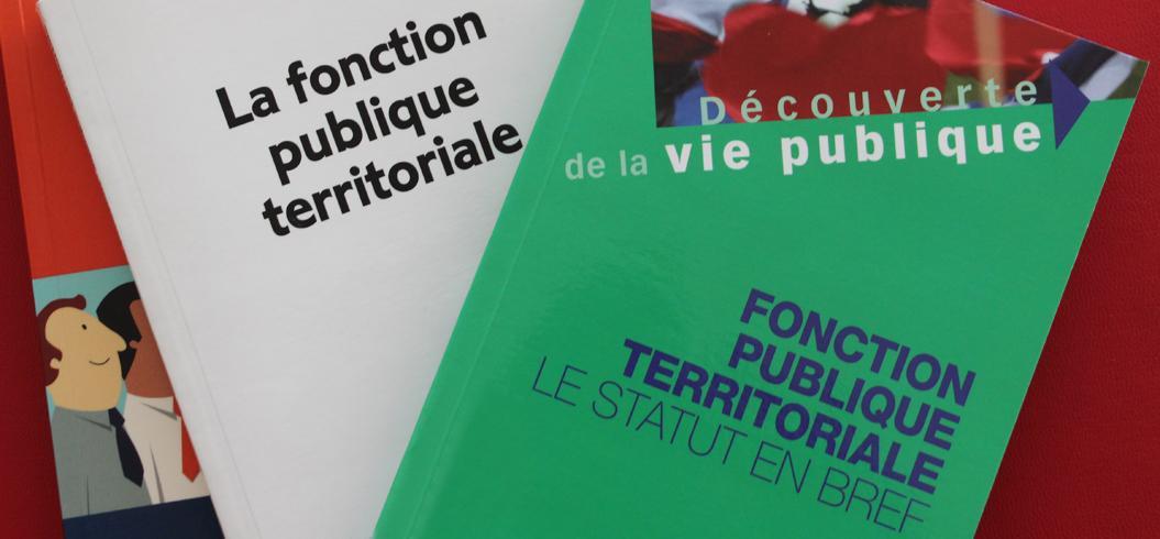 Couvertures d'ouvrages relatifs à la Fonction Publique Territoriale
