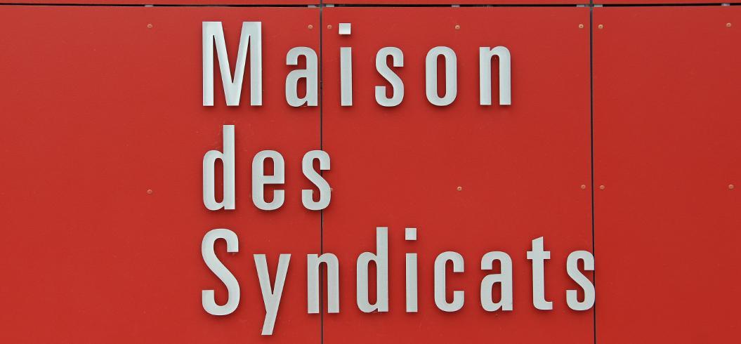 Signalétique de la maison des syndicats hébergés par le CDG31