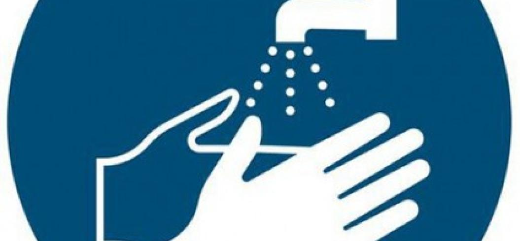 affiche coronavirus se laver les mains