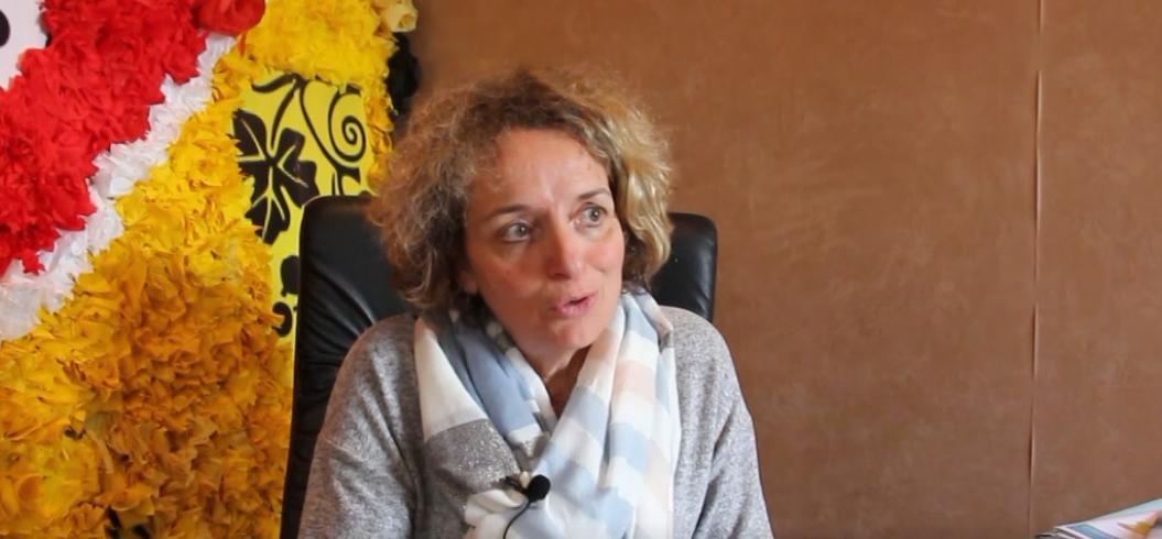 Photo interview de Madame CABESSUT, Maire de Bouloc