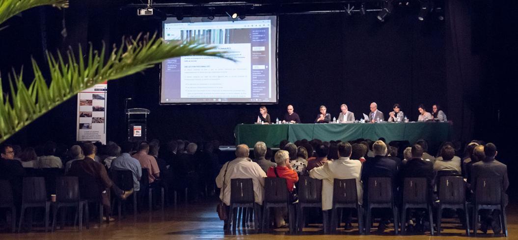 Assemblée générale 2016 du CDG 31 : la tribune